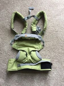 Ergobaby 360 baby carrier.  Green