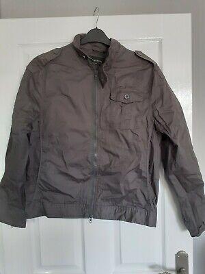 Burton grey jacket size m in gr8condition