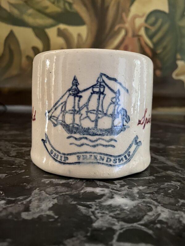 Antique/Vintage Old Spice Ship Friendship Shaving Mug