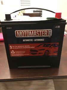 Motomaster Car Battery - Brand New