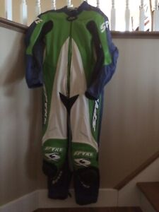 Spyke Leather race suit in perfect condition.