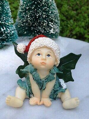 Miniatur Puppenhaus Fairy Garten ~ Santa Hut & - Baby Santa Hut