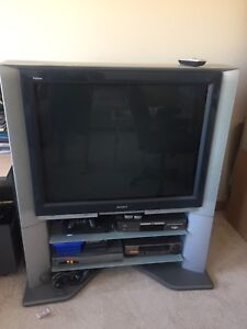 """Sony 40"""" HD TV and stand"""