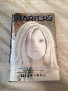 hardcover book- starters by Lissa price