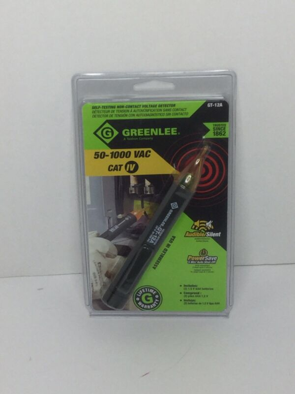 Greelee 50-1000 CAT IV Non-Contact Voltage Detector