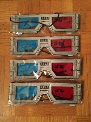 4x  3D Glasses for Spy Kids 3D Movie