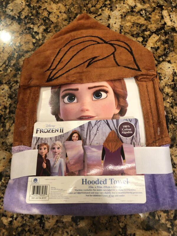 Disney Frozen 2 Anna Hooded Towel Cotton