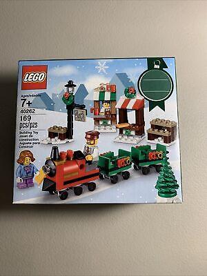 NEW LEGO 40262 Christmas Train Ride Seasonal Holiday Factory Sealed Box 2017