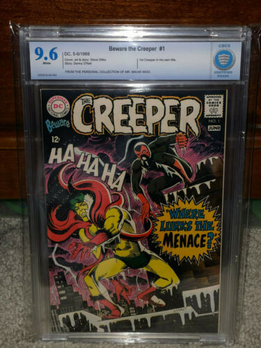 Beware the Creeper #1 CBCS 9.6 DC 1968 1st in Title! NM+ WP! Free CGC Mylar! cm