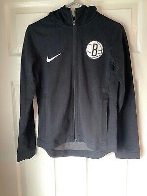Brand New Nike NBA Brooklyn Nets Hoodie Black Small Kids
