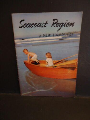 """Seacoast Region of New Hampshire"" 1951-1952 Booklet"