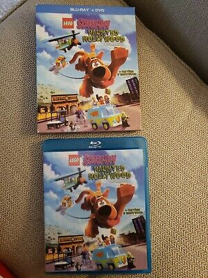 LEGO Scooby-Doo: Haunted Hollywood (Blu-ray Disc, 2-Disc Set) with Slipcover
