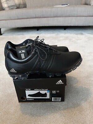 Adidas adipure golf shoes Size 11 Uk Wide