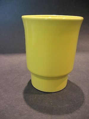 Vintage Franciscan Gladding McBean California Art Pottery Yellow Tumbler