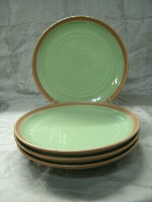 Noritake Green Plate - Noritake Stoneware MADERA SEA FOAM GREEN Set of 4-8 1/8