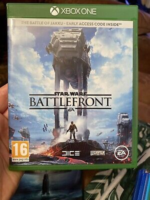 EXCELLENT  CONDITION ( STAR WARS - BATTLEFRONT )  XBOX ONE  GAME