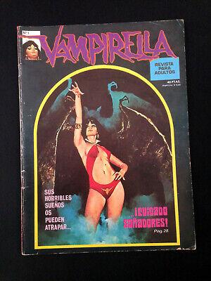 Usado, VAMPIRELLA No 1 Vintage Comic Book segunda mano  Baños de Cerrato