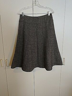 Anne Klein Lined Skirt (AK ANNE KLEIN LADIES A-LINE VISCOSE/WOOL SKIRT-6-NWOT-FULLY LINED-WIDE WAISTBAND )