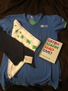Pathfinders T-shirt (size Lg), tie, book and sash