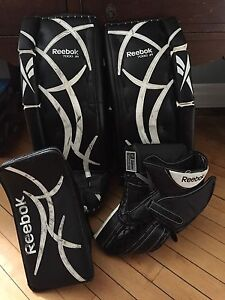 Youth goalie equipment  26 + 1