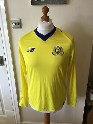 NEW BALANCE AL NASSR HOME SHIRT Size Small Saudi Arabian Team image