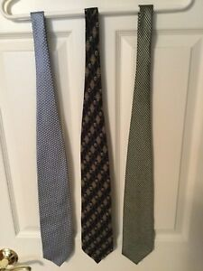 3 Valentino ties. Made in Italy. $20 each.