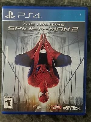 PS4 The Amazing Spider-Man 2 (Sony PS4 Playstation 4) Video Game Teen Rated