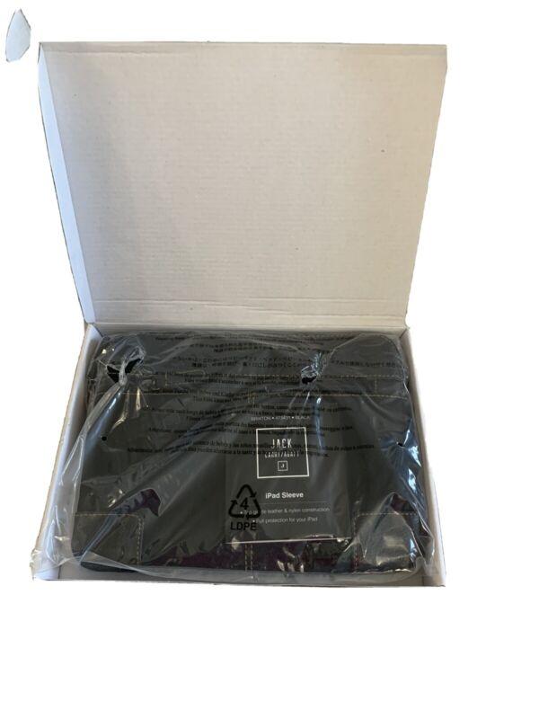 BNWT+Beautiful+BRIXTON+designer+leather+10%22+iPad+%2F+Tablet+case+Black+473431+