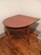 Semi-circular extendable dining table Sydenham Marrickville Area Preview