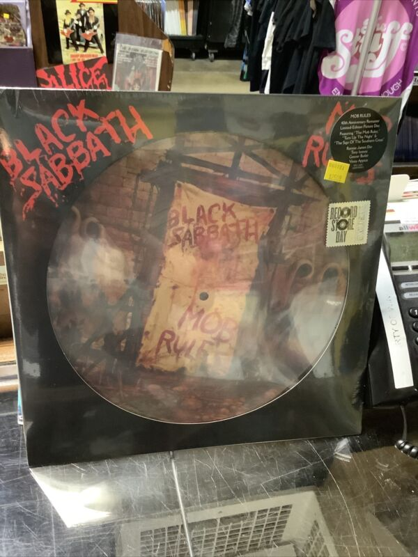 Black Sabbath Mob Rules Picture Disc Vinyl Record Store Day 2021 RSD NEW SEALED
