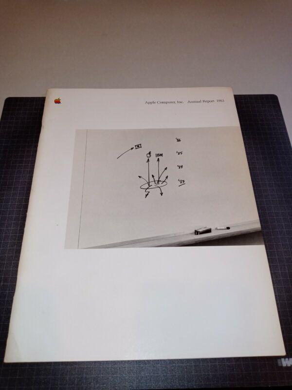 Vintage Apple Computer, Inc. 1983 Annual Report