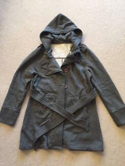 Grey Winter Coat Sizes 8-14