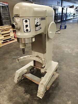 Hobart H600t 60 Qt Mixer 440v 3ph Works Good