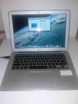 apple macbook air 13 mid 2012 core i5 4GB W/O HARDRIVE SSD