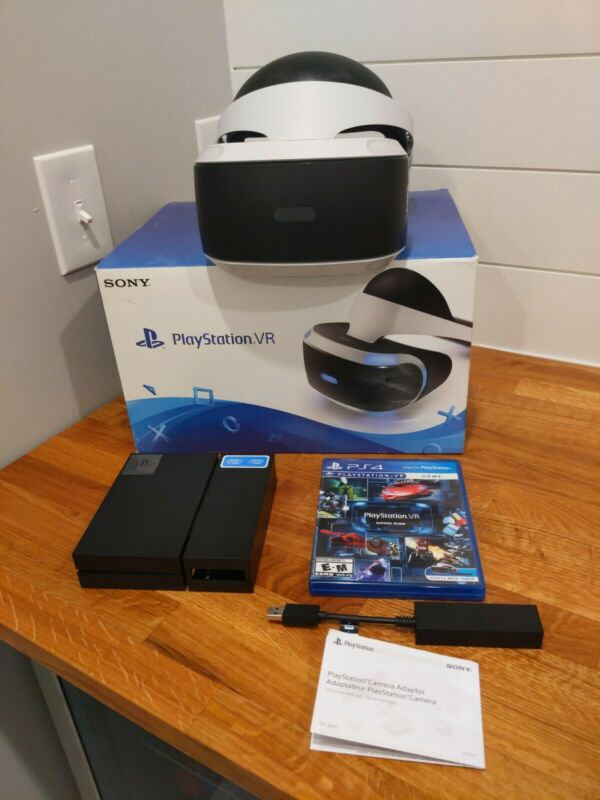 Sony PlayStation VR Virtual Reality Headset Bundle For PS4 PS5 - CUH-ZVR1