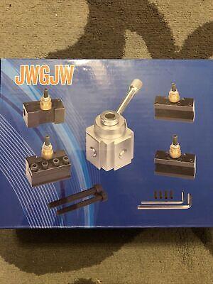 Jinwen 120018 Tooling Package Mini Lathe Quick Change Tool Post Holders Multif
