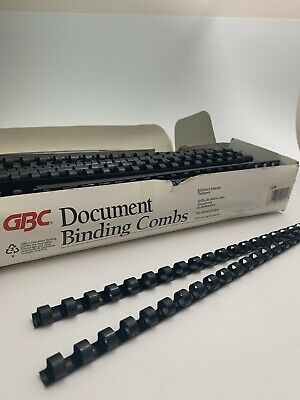 Gbc 38 Document Binding Combs 4030917 Qty Of 96