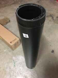"Black Stove Pipe 6""x36"" (10) **BRAND NEW**"