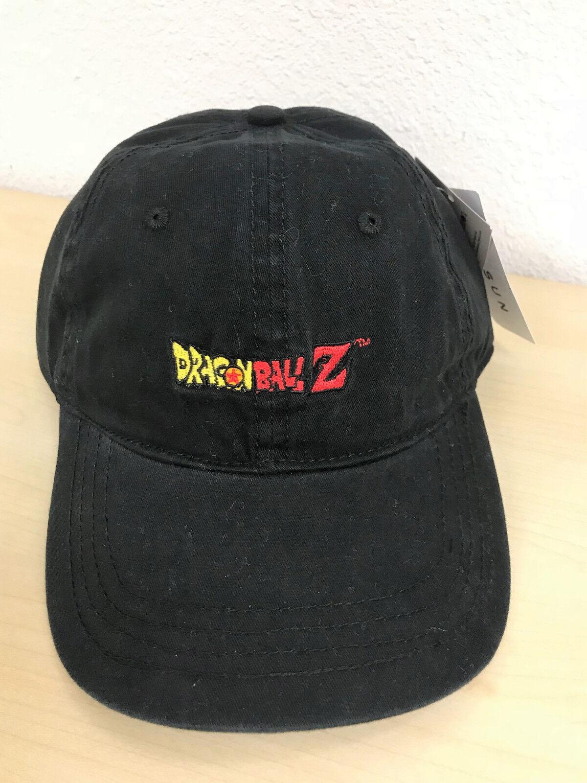 Dragon Ball Z Strapback Dad Hat Baseball Cap One Size Adjust