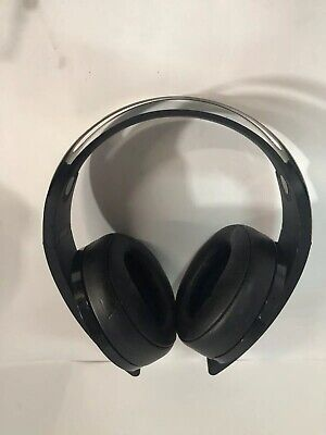 Sony PlayStation Platinum Wireless Headset 7.1 Surround Sound PS4 * NO DONGLE