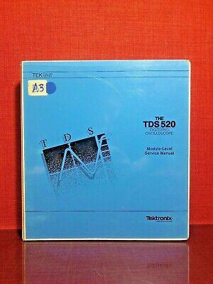 Tektronix Tds520 Digitizing Oscilloscope Module-level Service Manual 1278