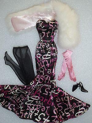 Silkstone Barbie BFMC 45th Anniversary Fashion ~ Newly Unboxed ~ Free U.S Ship