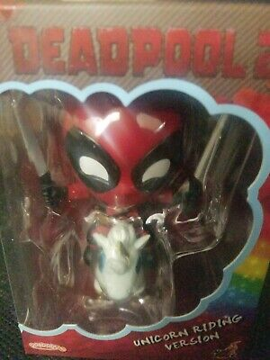 Marvel Hot Toys Deadpool (Unicom Riding Ver.) Cosbaby