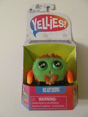 Yellies - Voice Activated Interactive Pet Spider - Klutzers