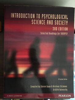 Introduction to social psychology textbook textbooks gumtree introduction to psychological science and society 3rd edition fandeluxe Image collections