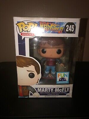 Marty Mcfly Hoverboard (Vaulted - Damaged Box - Funko Pop Marty McFly Hoverboard FUN)