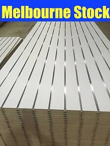 SLATWALL SLAT WALL PANEL SHOP SHELF DISPLAY BOARD WALLS SLATWALLS Blackburn Whitehorse Area Preview