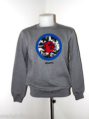 FELPA RICHMOND MERC LONDON S M L MAGLIA GIROCOLLO MANICA LUNGA CREW NECK SWEAT