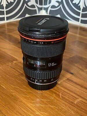 Canon EF 17-35mm f/2.8 L USM Lens