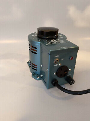 Staco Energy Products 3pn1020 240v 3.5a Variac Variable Autotransformer
